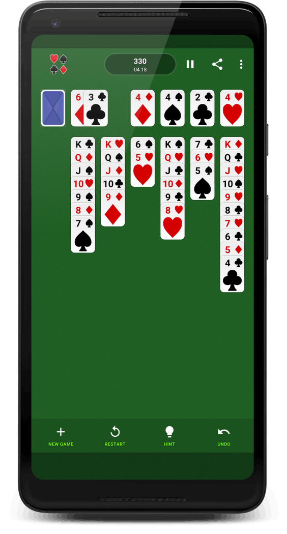 Solitaire device